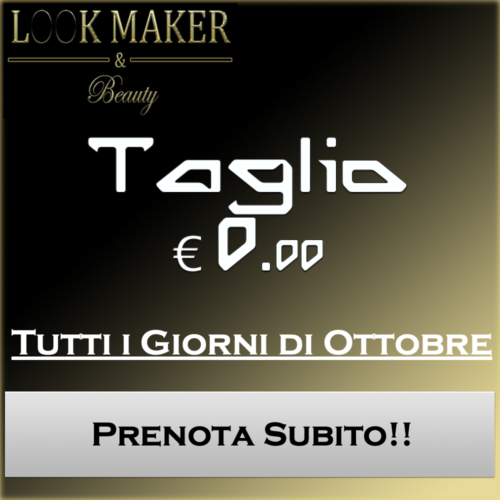 LookMaker & Beauty Promo Ottobre 2020